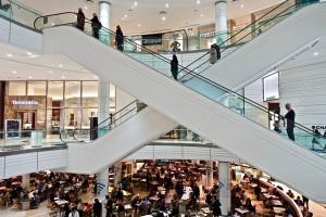 winkelcentrum (zonder rechten)